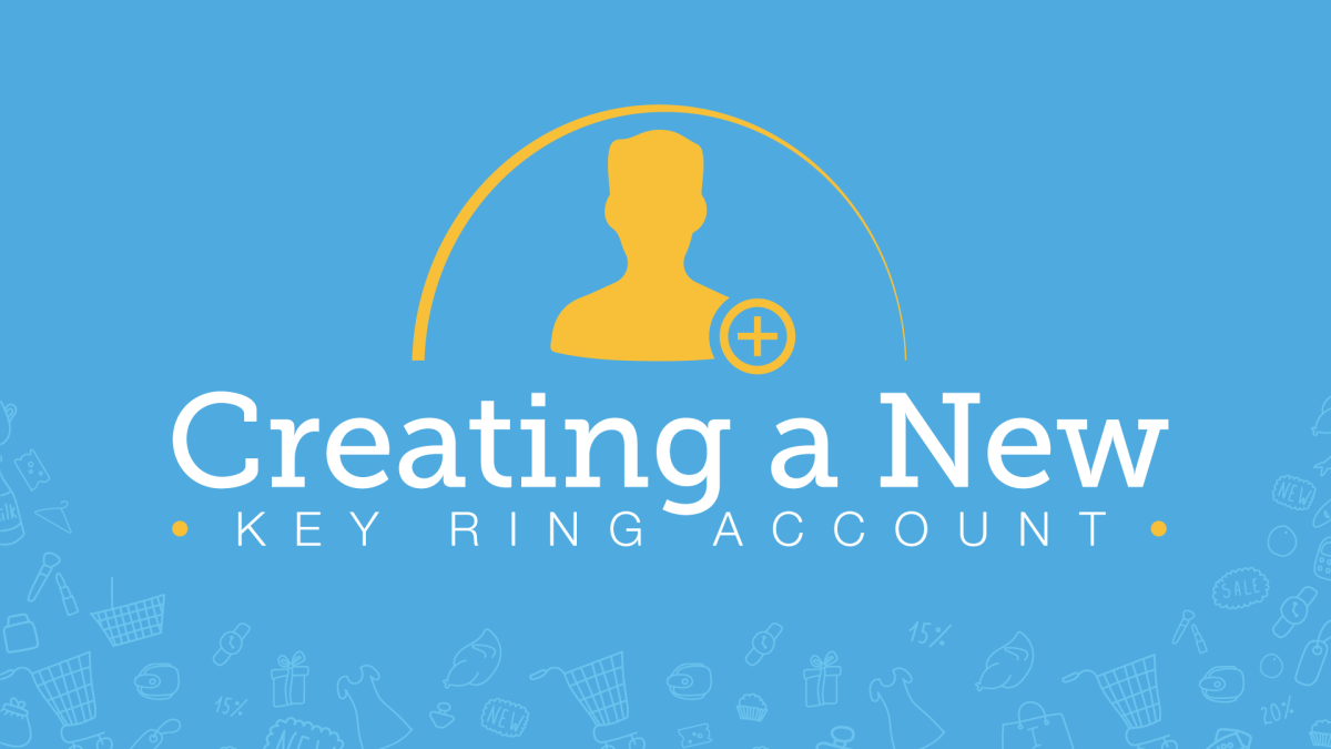 Creating an Account with Key Ring