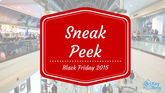 Black Friday 2015 Sneak Peek