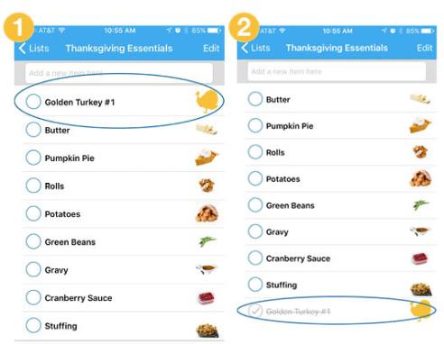golden turkey key ring app